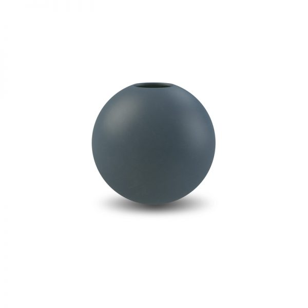 Ball Vase Cooee d.10 blu notte
