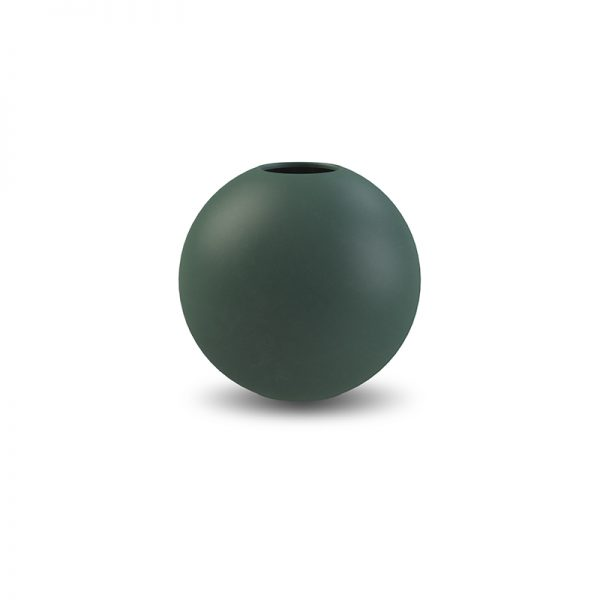 Ball Vase Cooee d.10 verde scuro