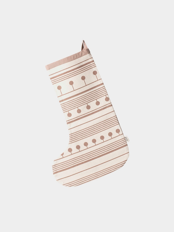 Calza di Natale Winterland Christmas Stocking di Ferm Living 1
