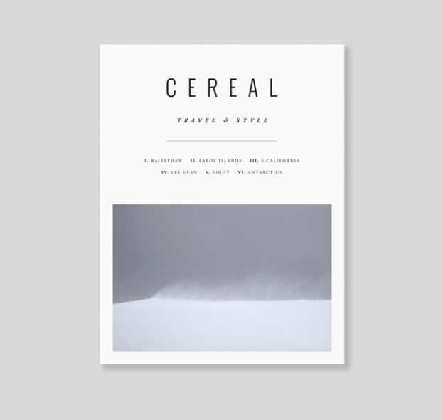 CEREAL MAGAZINE VOLUME NUMERO12
