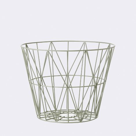 Cesto WIRE BASKET MEDIO di Ferm Living