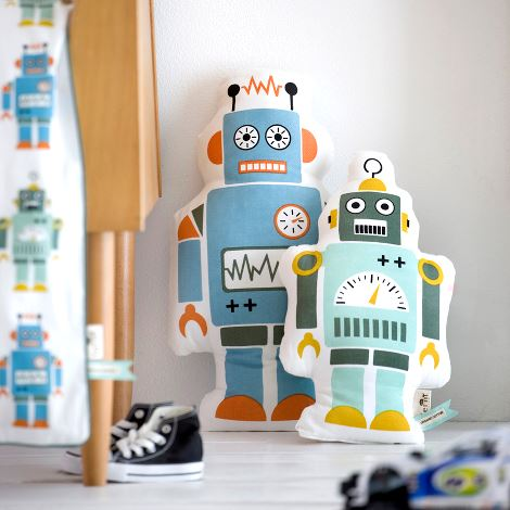 Cuscino MR. LARGE ROBOT CUSHION di Ferm Living