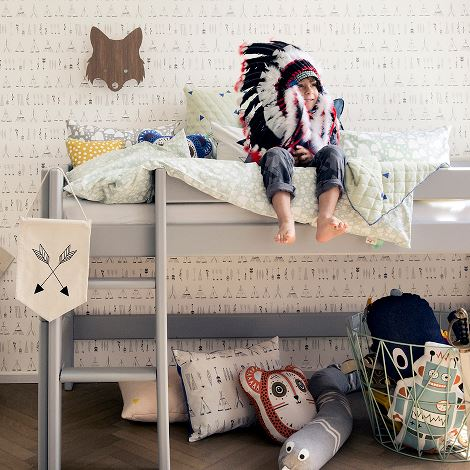 Carta da parati Native_ferm living_Elementi home