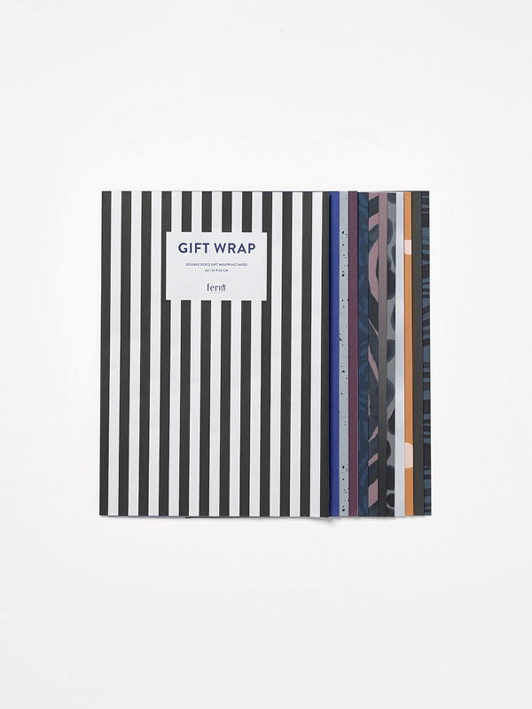 GIFT WRAPPING BOOK Ferm Living - Christmas - Elementi Home
