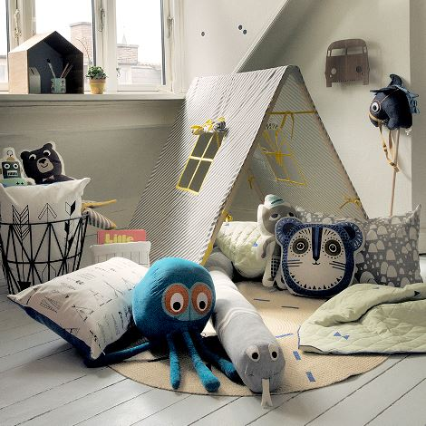 Native cushion_ferm living_kidsroom