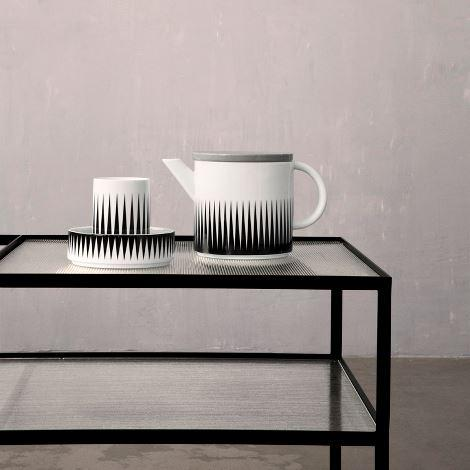 Teapot and geometry cup ferm LIVING