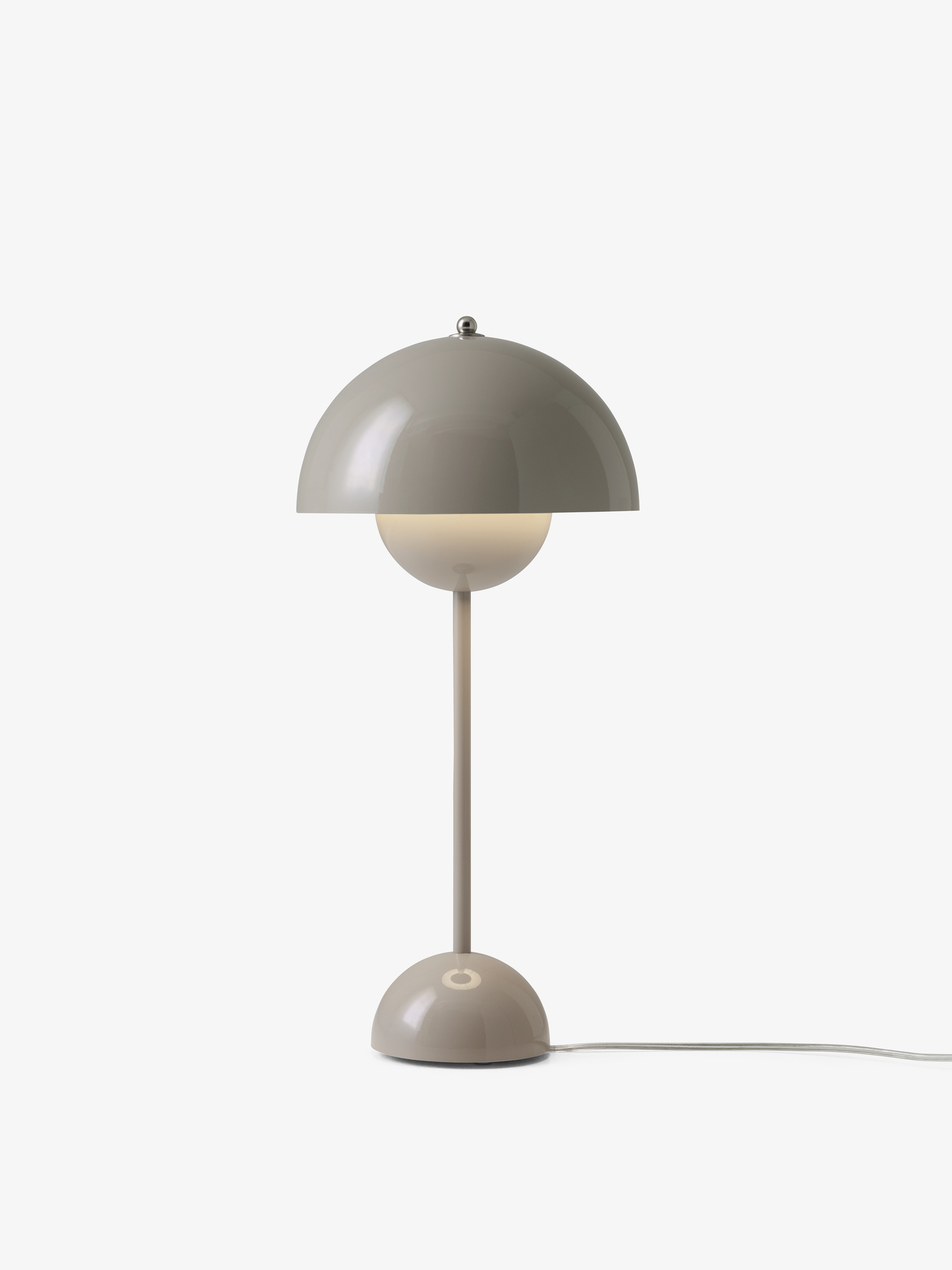 FLOWERPOT VP3_GREY BEIGE LIGHT