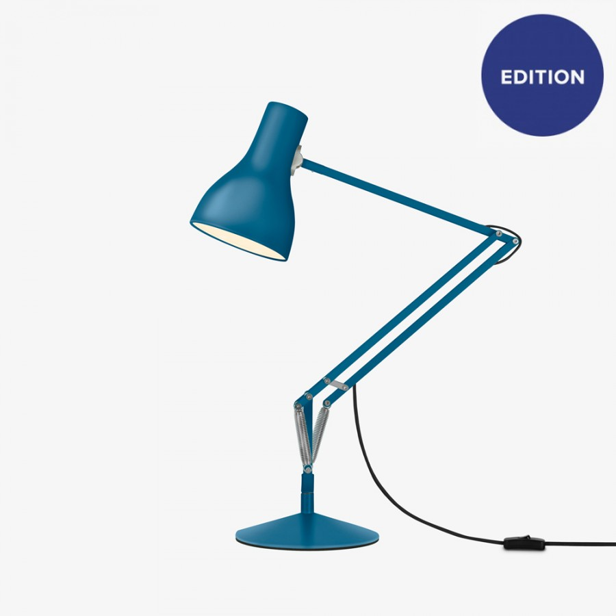 Lampada da tavolo TYPE 75 DESK LAMP design MARGARET HOWELL  blu