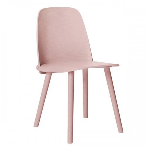 Muuto design sedia nerd rosa for Sedia rosa
