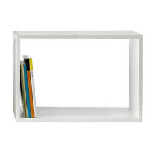 Libreria muuto stacked modulo bianco large for Costruisci la tua cucina