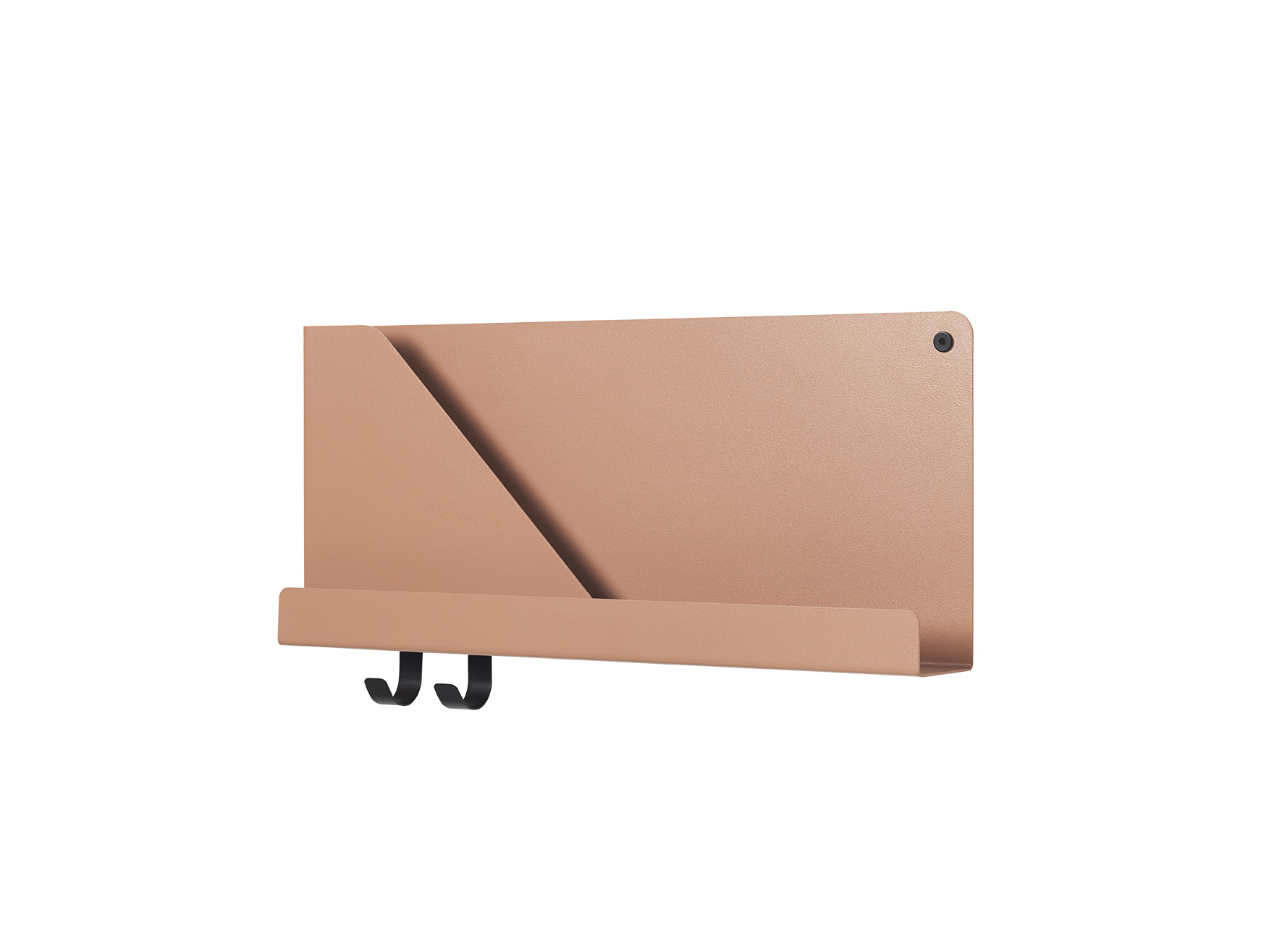 Mensola FOLDED SHELVES_ small_terracotta_muuto