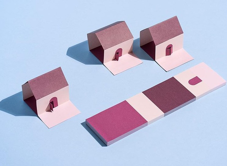 Daily Fiction Sticky Notes House - Normann Copenhagen - Elementi Home