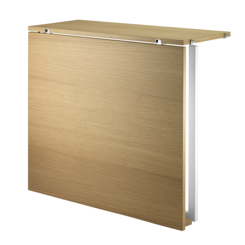 FOLDING TABLE_OAK-WHITE_ STRING