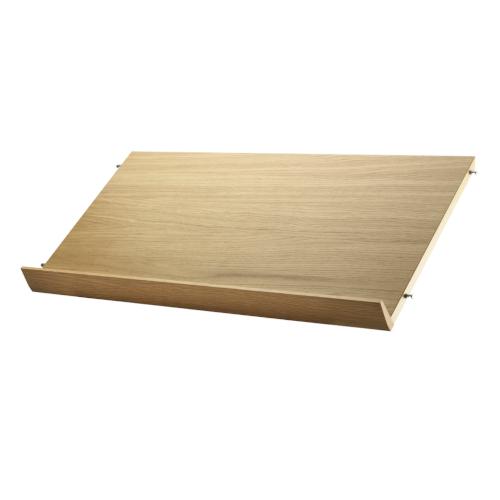Porta Mensole In Legno.Mensola In Legno Porta Riviste String Magazine Shelf Wood String