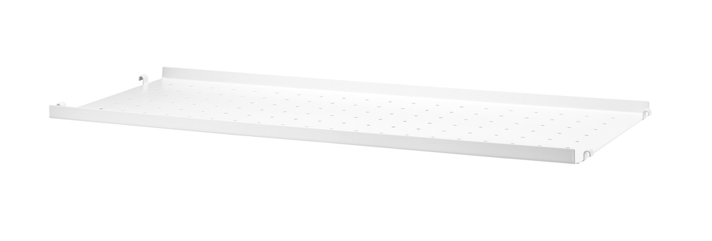 METAL SHELF WHITE