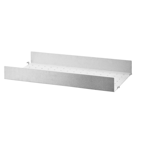 METAL SHELVES HIGH EDGE_GALVANIZED
