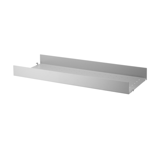 METAL SHELVES HIGH EDGE_GREY