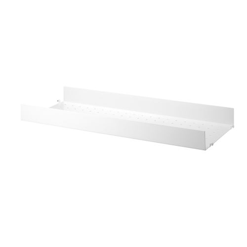 METAL SHELVES HIGH EDGE_WHITE