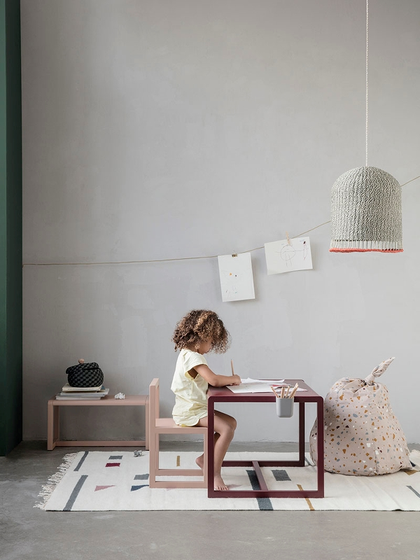 tavolino per bambini Little Architect Table di Ferm Living